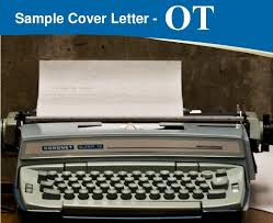 Occupational Therapist Cover Letter Importance Format And Tips
