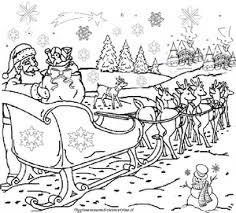 Disegni Babbo Natale Da Colorare Fatti A Matita Da Bambini