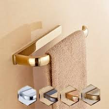 rose gold wall mount bathroom towel