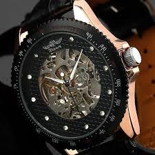 men luxury rose gold case self wind up mechanical watch wm096 men luxury rose gold case self wind up mechanical watch wm096