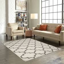 mainstays trellis 2 color area rugs or