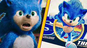 New Design For Sonic The New Sonic Movie Design Leaks And It Looks Great