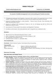 Sample Resume For Accountant Fresher Green Thirteen