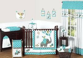 green crib bedding sweet designs mod elephant collection piece crib bedding set mint green and pink green crib bedding