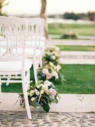wedding aisle inspiration centerpieces view the full gallery here