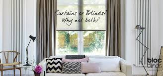 try curtains and blinds together