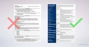 Resume Examples Modern