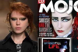 creatures of the wind and siouxsie sioux with her signature eye makeup photos imaxtree