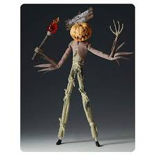 Nightmare Before Christmas Pumpkin King Scarecrow Figure - Groove ...