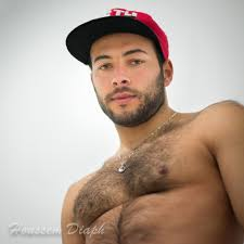 Sexy young hairy men