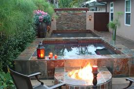 patio designs with fire pit and hot tub. Patio With Fireplace And Hot Tub Splendid Lighting Charming A Decorating Ideas Designs Fire Pit
