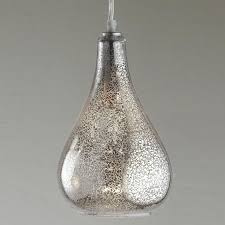 glass bulb pendant clear led or mercury glass
