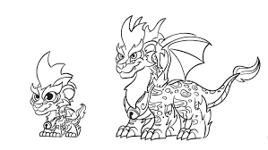 Small Picture Dragon City Game Coloring Pages Coloring Pages Ideas