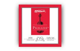 La Bella String Tension Chart Daddario Prelude Cello String Set 4 4 Scale Medium Tension