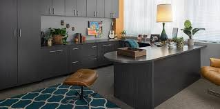 custom office design. Custom Home Office Cabinets With Licorice Finish Design N
