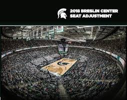 Breslin Arena Seating Chart 2018 Msu Mens Basketball Seat Adjustment Brochure By