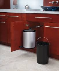 Kitchen Waste Bin Door Mounted Amazing Large Kitchen Trash Can Ideas Home And Interior