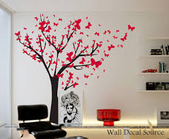 Tree Design Wallpaper Living Room Interior Plant A Tree On The Wall With The Exhilarating Vinyl