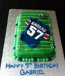 Top Football Cakes Cakecentralcom