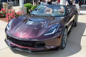 2017 Corvette Grand Sport Black Rose Metallic Corvette Gallery Corvette Grand Sport Corvette Chevrolet Corvette