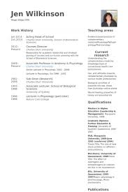 Head Of School Resume Samples Visualcv Resume Samples Database