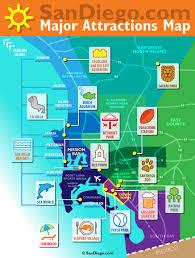 maps update  tourist attractions map san diego – san
