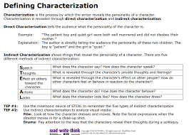 Steal Characterization Chart