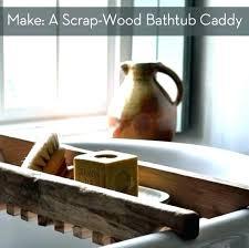 tub bath dot com wood claw bathroom black bathtub tray shower basket vintage clawfoot traditional with