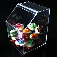 wholes customers acrylic countertop candy box and bins display pictures photos