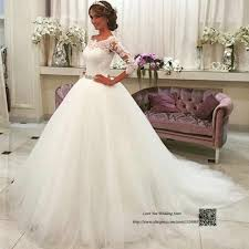 Latest Wedding Gown Designs Latest Design White Ball Gown Wedding Dresses Lace Vestido De Casamento Belt Floor Length Wedding Gowns Bride Dress Louisvuigon