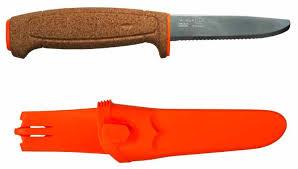 <b>Нож Morakniv Floating</b> Serrated <b>Knife</b> пробковая ручка