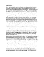 essay of racism essay racism o boada a introduction racism 2 pages essay on racism