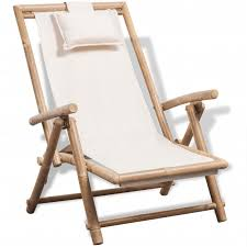 <b>Outdoor Deck Chair Bamboo</b> -