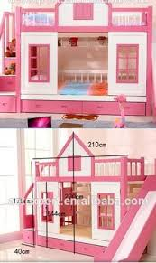 Wood Bunk Bed with Stairs and Slide option Ava and Adalyn