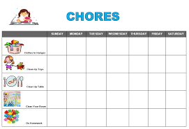 Free Printable School Charts After School Snack Ideas Free Printable Chore Chart