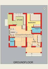 villa design for 3 cent plot house