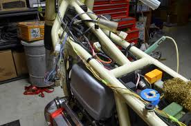 k re wiring my bmw k retro customization once sorted i began cutting wires crimping on connectors and sleeving the bundles i chose to use amp superseal connectors where possible
