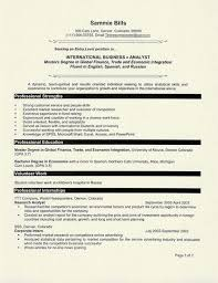 Graduate Student Resume Example Student Resume Sample Resume And