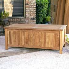 outdoor wood storage bench outdoor seat storage bench
