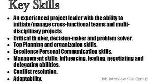 Ideas Collection Resume Skill Examples List Marvelous Skills Section