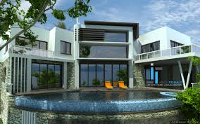 exterior extraordinary luxury modern home interiors. Extraordinary Design Large Ultra Modern House Plans 15 Home Designs 3D Interior Exterior On Luxury Interiors X