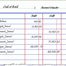 Simple General Ledger 17 Accounting Ledger Format 964327665001 General Ledger Format