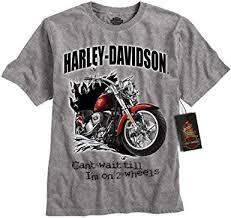 harley davidson boy s motorcycle t shirt gray toddler 3t harley