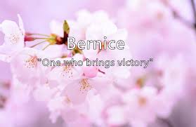 Bernice - Name Meaning, Popularity, Similar Names, Nicknames and ...
