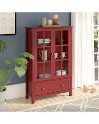 tall accent cabinet.  Tall Valerie Tall Accent Cabinet Color Red For Cabinet N