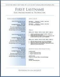 Resume Templates Downloads Best of Best Free Resume Templates Downloads Simple Resume Template