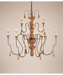 currey and company mansion inch wide light chandelier