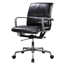 vintage office chair. Kennedy Vintage Office Chair Black I