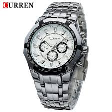 online buy whole top designer watches from top designer new curren watches men top luxury brand fashion design military sports wrist watches men digital quartz