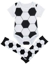 Cosland Baby Boys Sports Bodysuit Wirh Leg Warmers